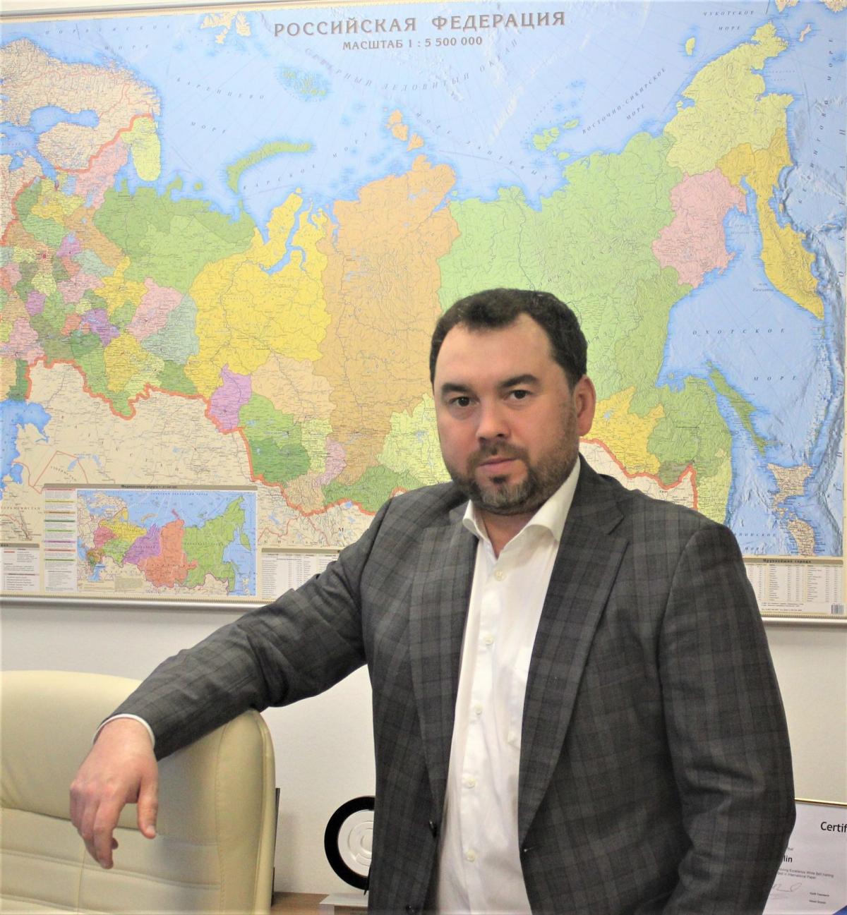 Генеральный директор International Paper Россия Тимур Габидуллин